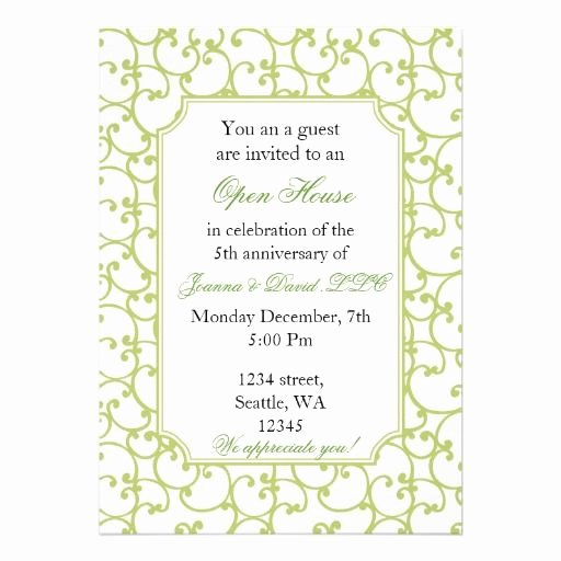Business Open House Invitation Template Inspirational Elegant Corporate Party Invitation
