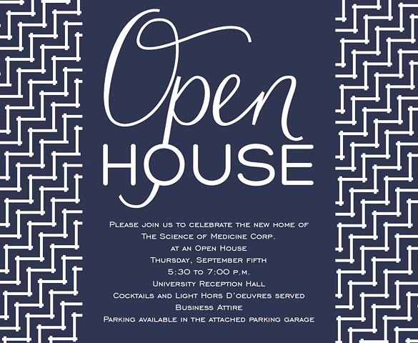 Business Open House Invitation Template Lovely 14 Open House Invitation Templates Free Psd Vector Eps