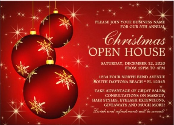 Business Open House Invitation Template Luxury 23 Business Invitation Templates – Free Sample Example