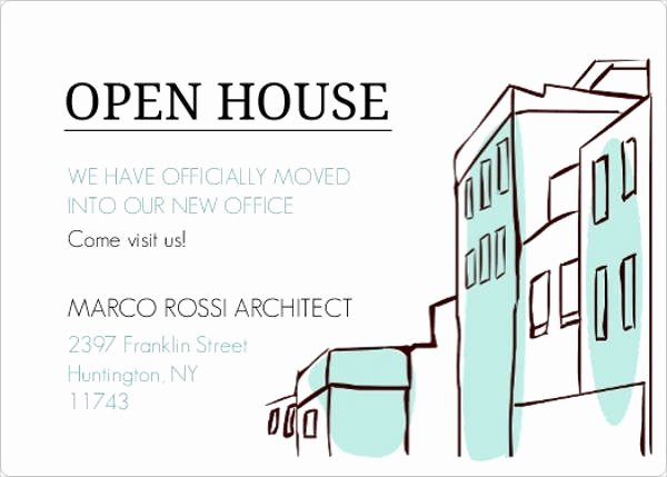 Business Open House Invitation Template New 16 Small Business Invitations Psd Eps