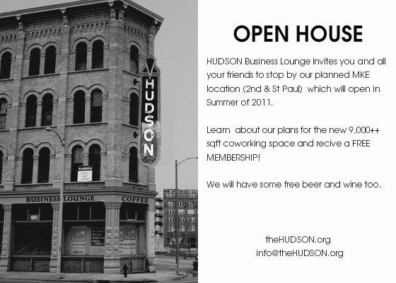 Business Open House Invitation Template Unique Hudson Business Lounge Open House Line Invitations