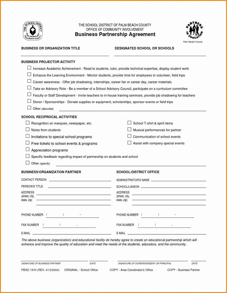 Business Partnership Separation Agreement Template Fresh 50 Inspirational Business Partnership Separation Agreement