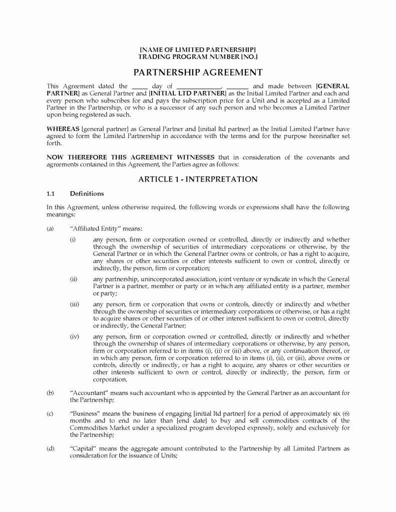 Business Partnership Separation Agreement Template Inspirational 50 Inspirational Business Partnership Separation Agreement