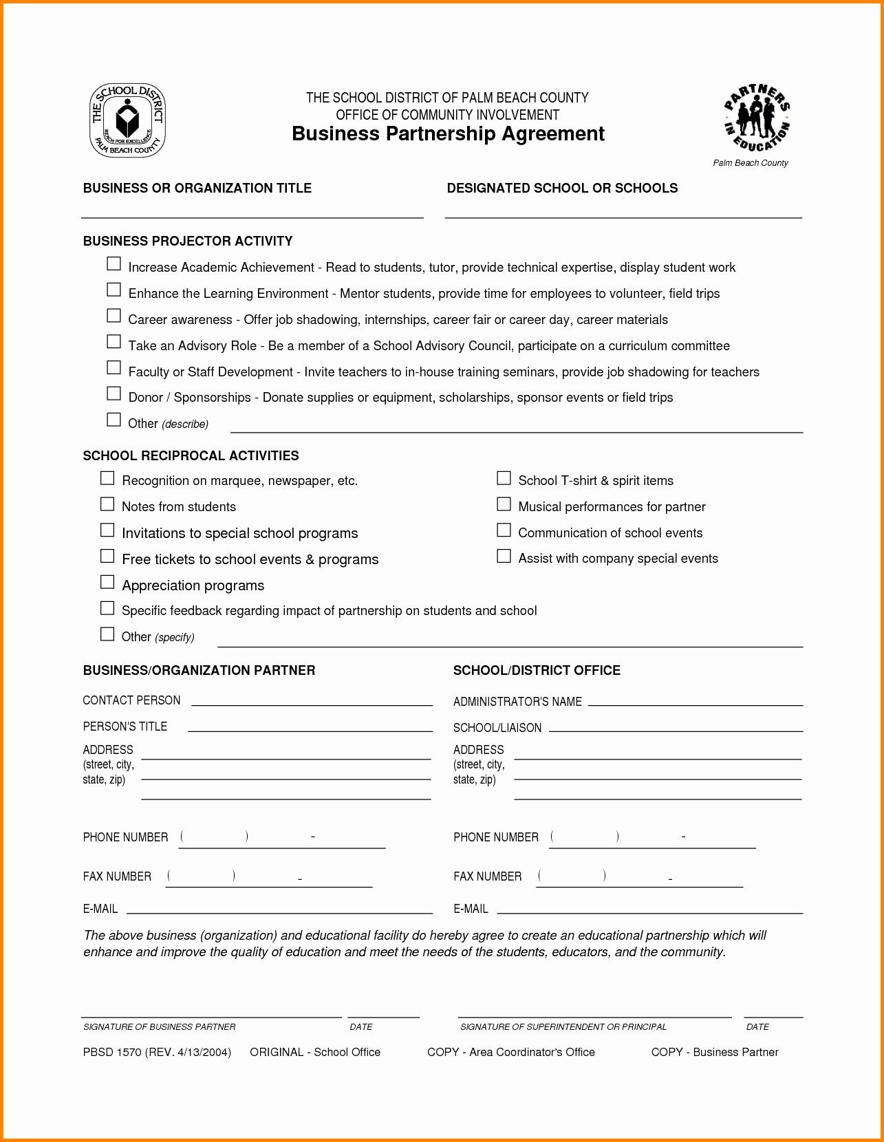 Business Partnership Separation Agreement Template New Agreement Templates Portablegasgrillweber