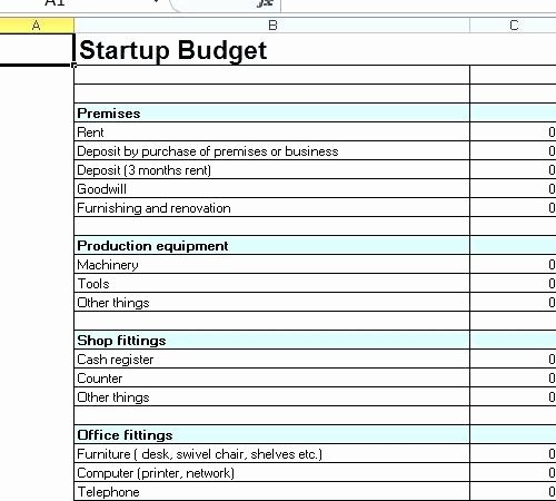 Business Plan Budget Template Lovely Basic Bud Template Business Plan Excel
