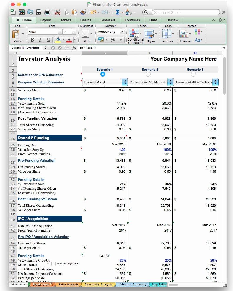 Business Plan Template Excel Fresh Business Plan Financial Model Template Bizplanbuilder