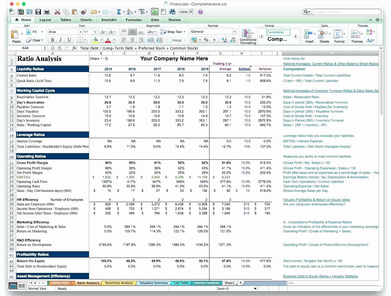 Business Plan Template Excel New Template Business Plan Financials Template Excel