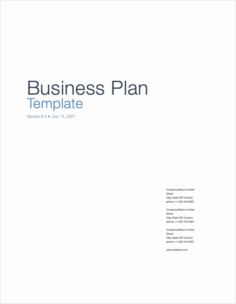 Business Plan Template Pages Mac Unique Business Plan Template Apple Iwork Pages Numbers