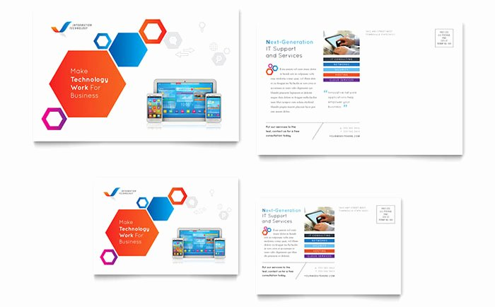 Business Postcard Template Free Inspirational Free Postcard Templates Download Ready Made Designs