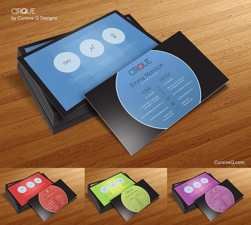 Business Postcard Template Free Unique 50 Best Free Psd Business Card Templates Download
