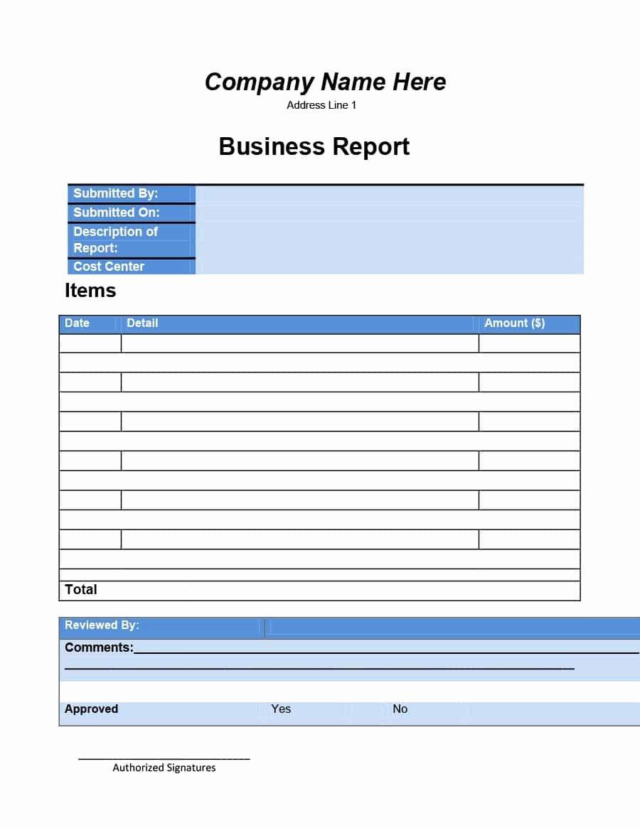 Business Progress Report Template Elegant 30 Business Report Templates & format Examples Template Lab
