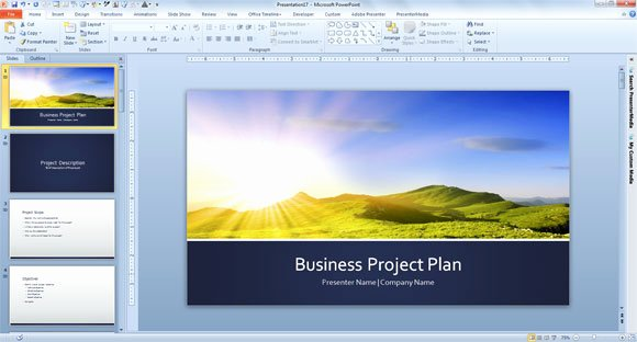 Business Project Plan Template Lovely Free Business Plan Template for Powerpoint 2013