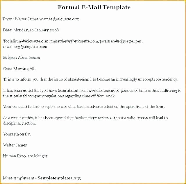 Business Proposal Email Template Inspirational Proposal Email format Business Proposal Template Email