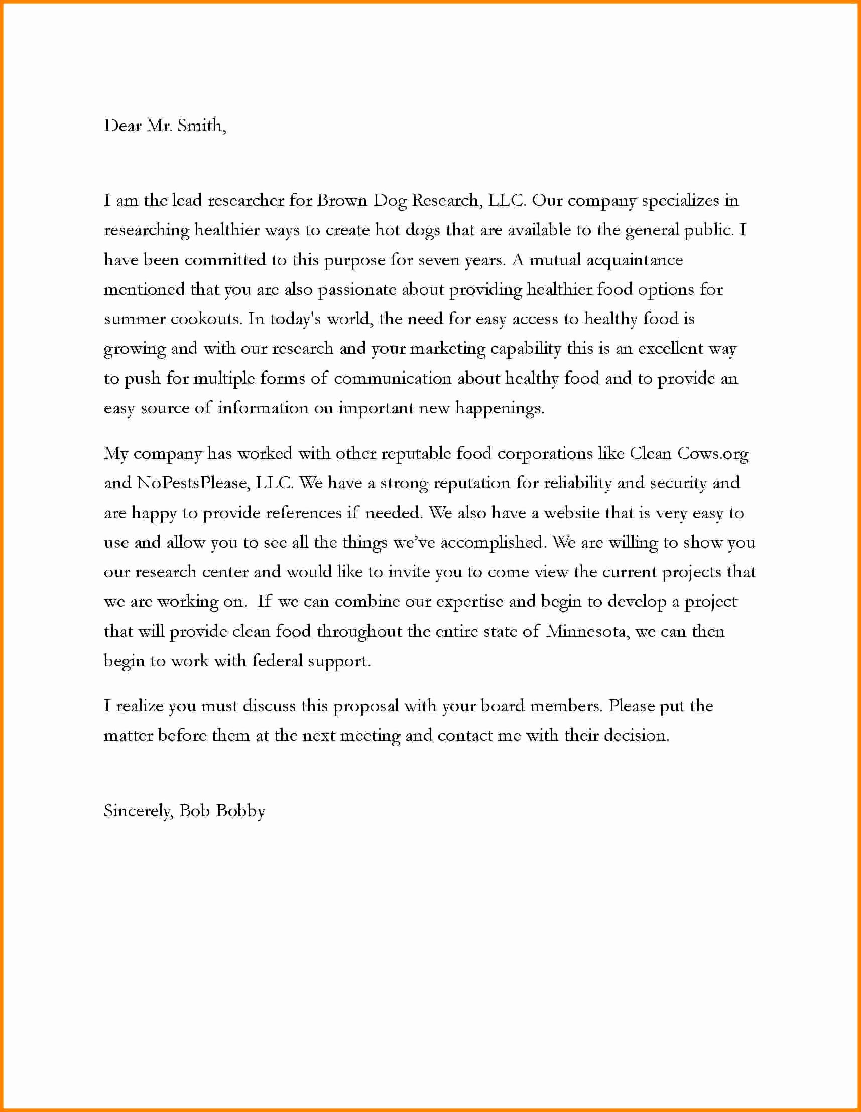 Business Proposal Email Template New Business Proposals Samples Mughals
