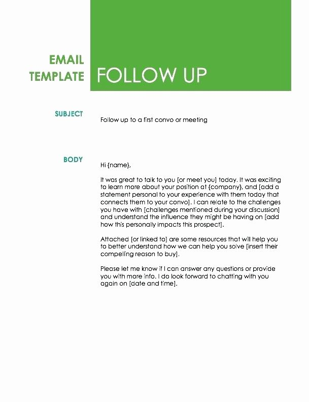 Business Proposal Email Template Unique Business Follow Up Email Template – Azserverfo