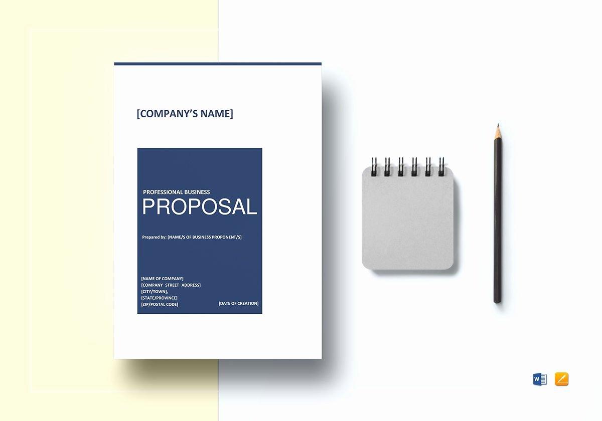 Business Proposal Template Google Docs Beautiful Professional Business Proposal Template In Word Google