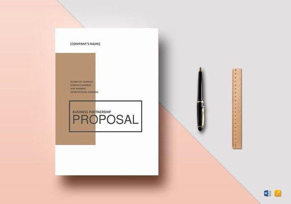 Business Proposal Template Google Docs Lovely 10 Partnership Proposal Templates Word Pdf Pages