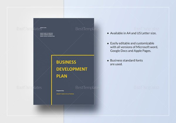 Business Proposal Template Google Docs Luxury Business Plan Templates 43 Examples In Word