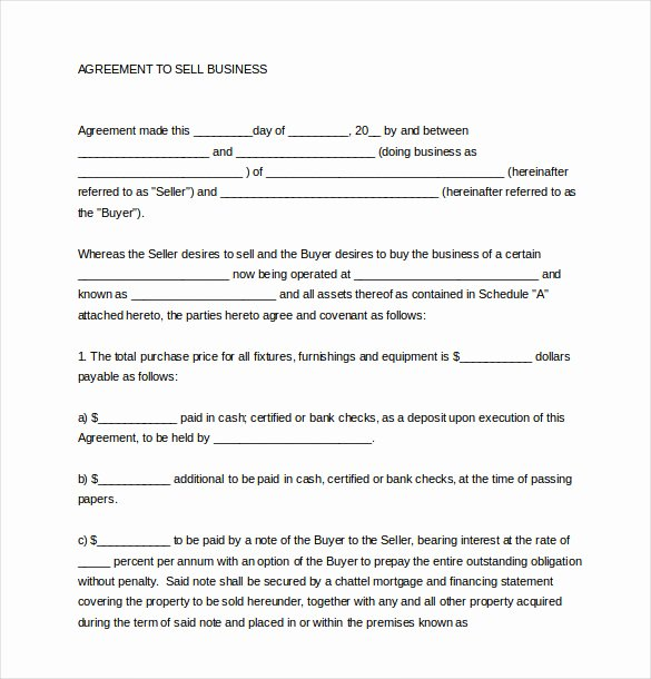 Business Purchase Agreement Template Free Elegant 21 Sales Agreement Templates Word Google Docs Apple