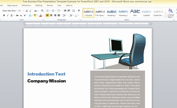 Business Report Template Word Awesome Business Report Template for Microsoft Word