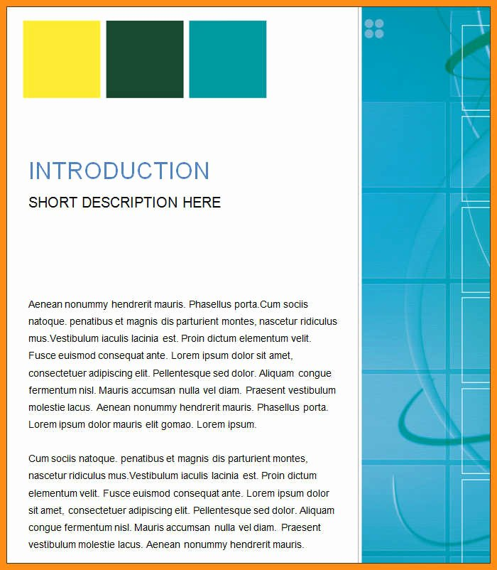 Business Report Template Word Fresh 13 Report Templates Microsoft Word