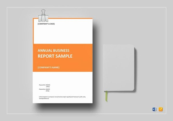 Business Report Template Word Fresh Annual Report Template 39 Free Word Excel Pdf Ppt