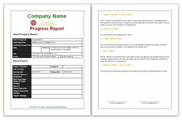 Business Report Template Word Inspirational Report Template Word Free