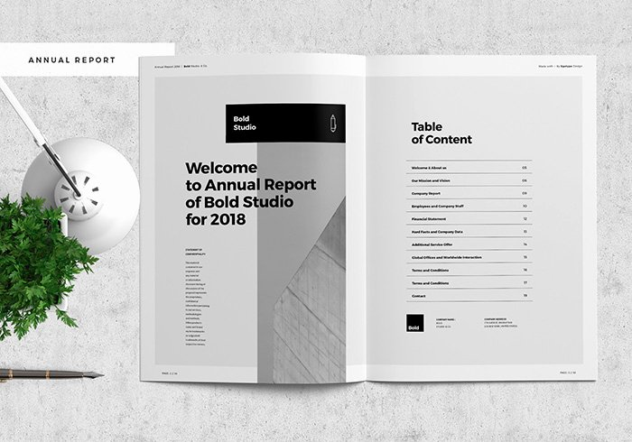 Business Report Template Word Luxury 48 Best Annual Business Report Templates Psd Word
