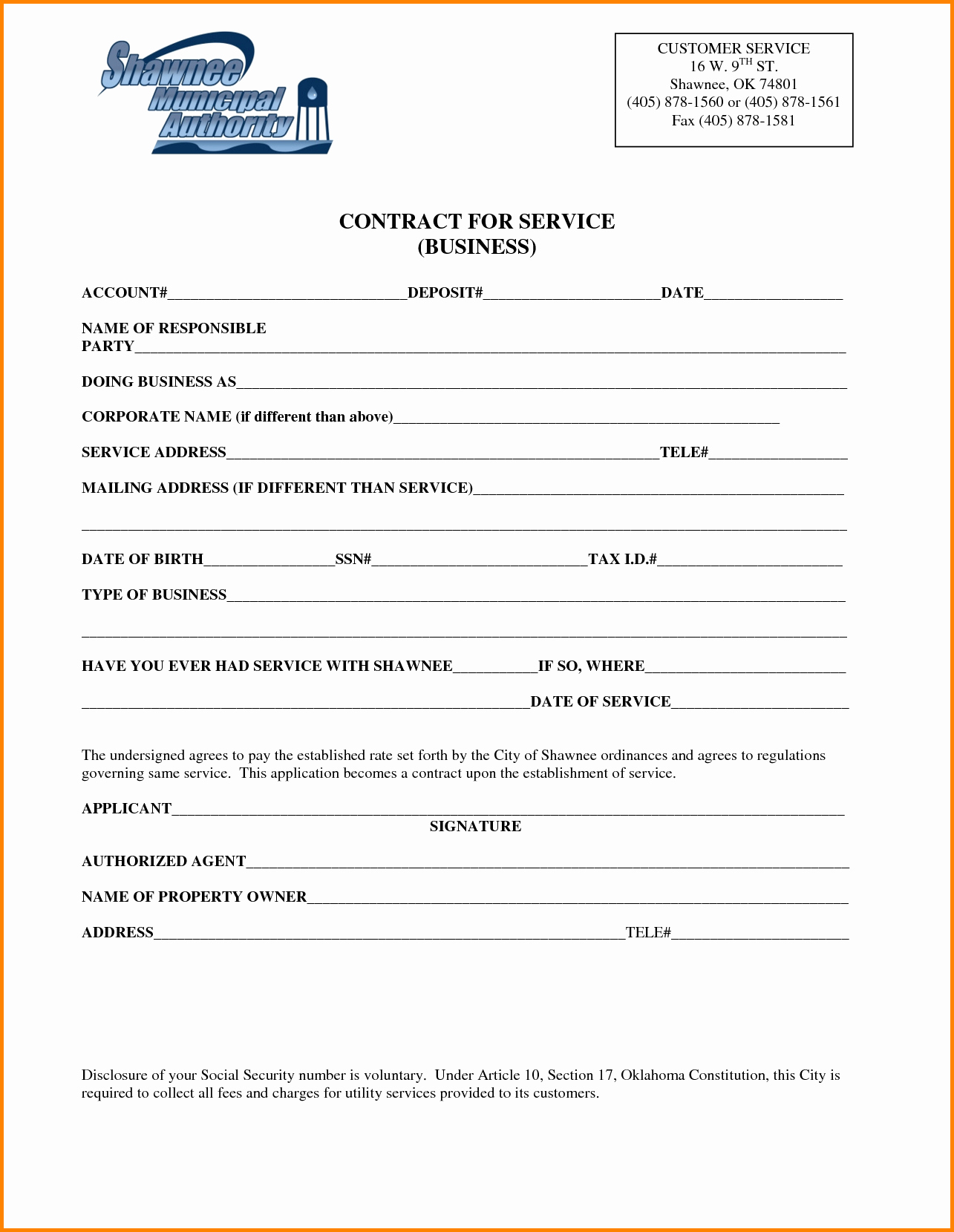 Business Service Contract Template Awesome Business Service Contract Template Portablegasgrillweber