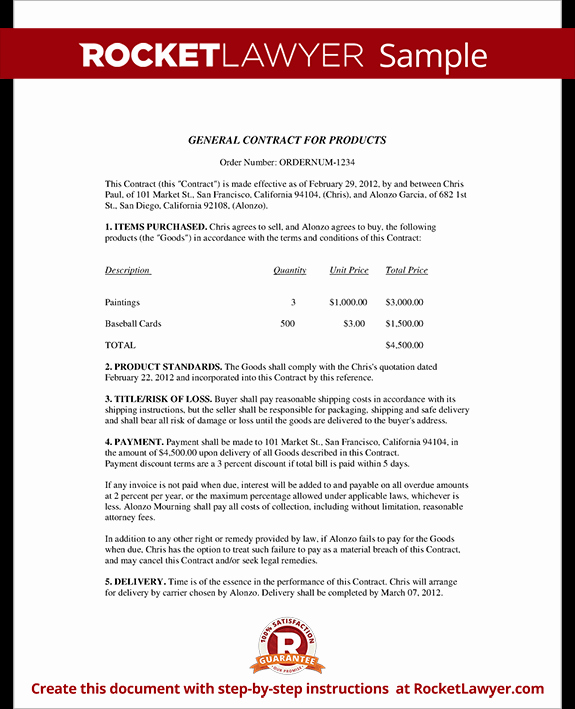 Business Service Contract Template Beautiful Business Contract Template Business Sales Agreement Sample