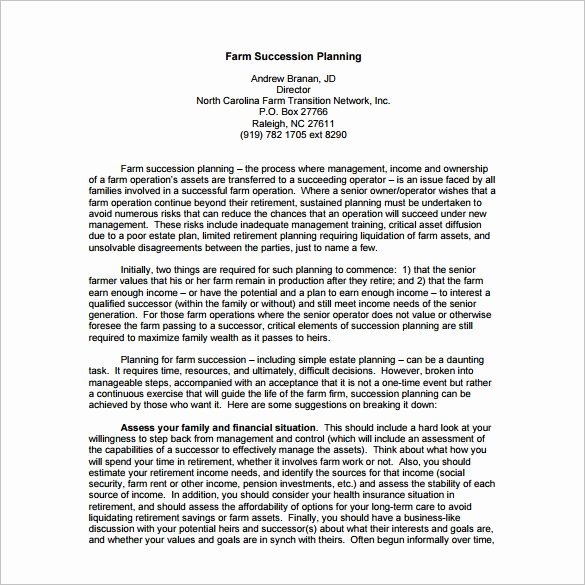 Business Succession Planning Template Beautiful Succession Planning Template Free Word Documents