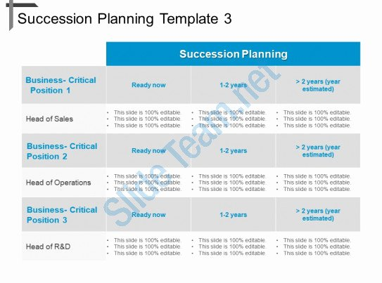 Business Succession Planning Template Best Of Style Essentials 2 Pare 3 Piece Powerpoint