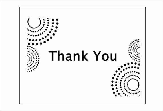 Business Thank You Card Template Awesome 6 Business Thank You Cards Psd Ai