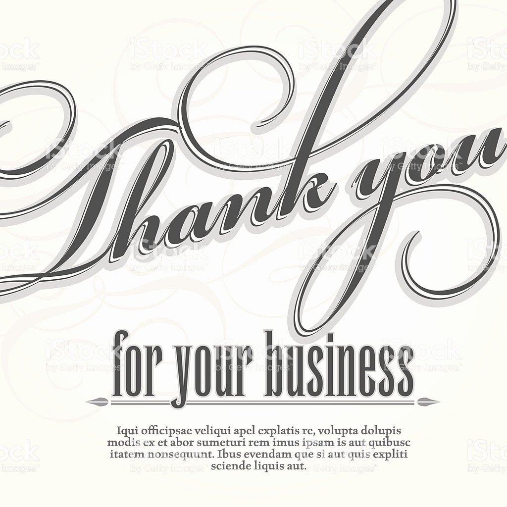 Business Thank You Card Template Awesome Ideas Collection Business Thank You Cards Templates