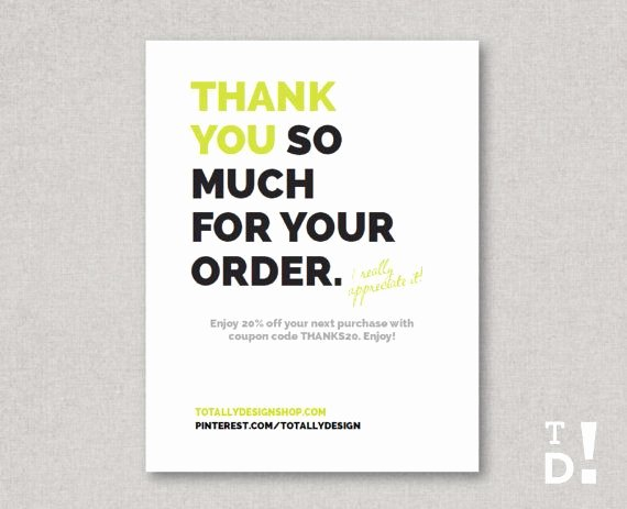 Business Thank You Card Template Beautiful 41 Best Business Thank You Cards Images On Pinterest