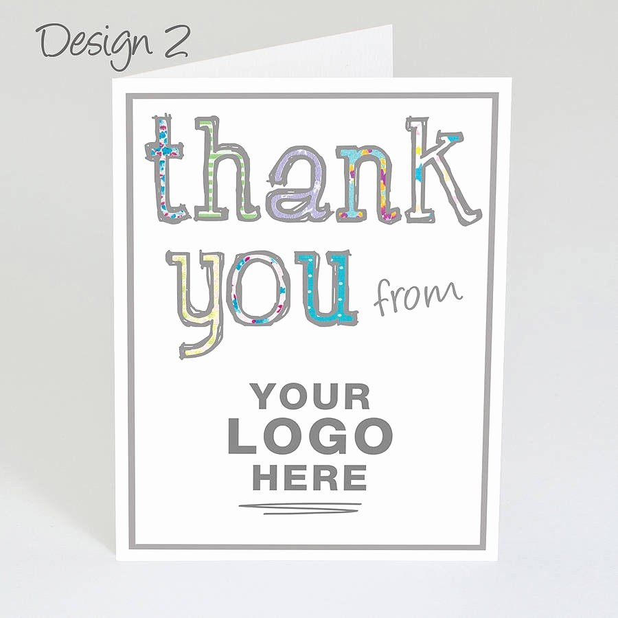 Business Thank You Card Template Beautiful Business Thank You Card Template Mughals