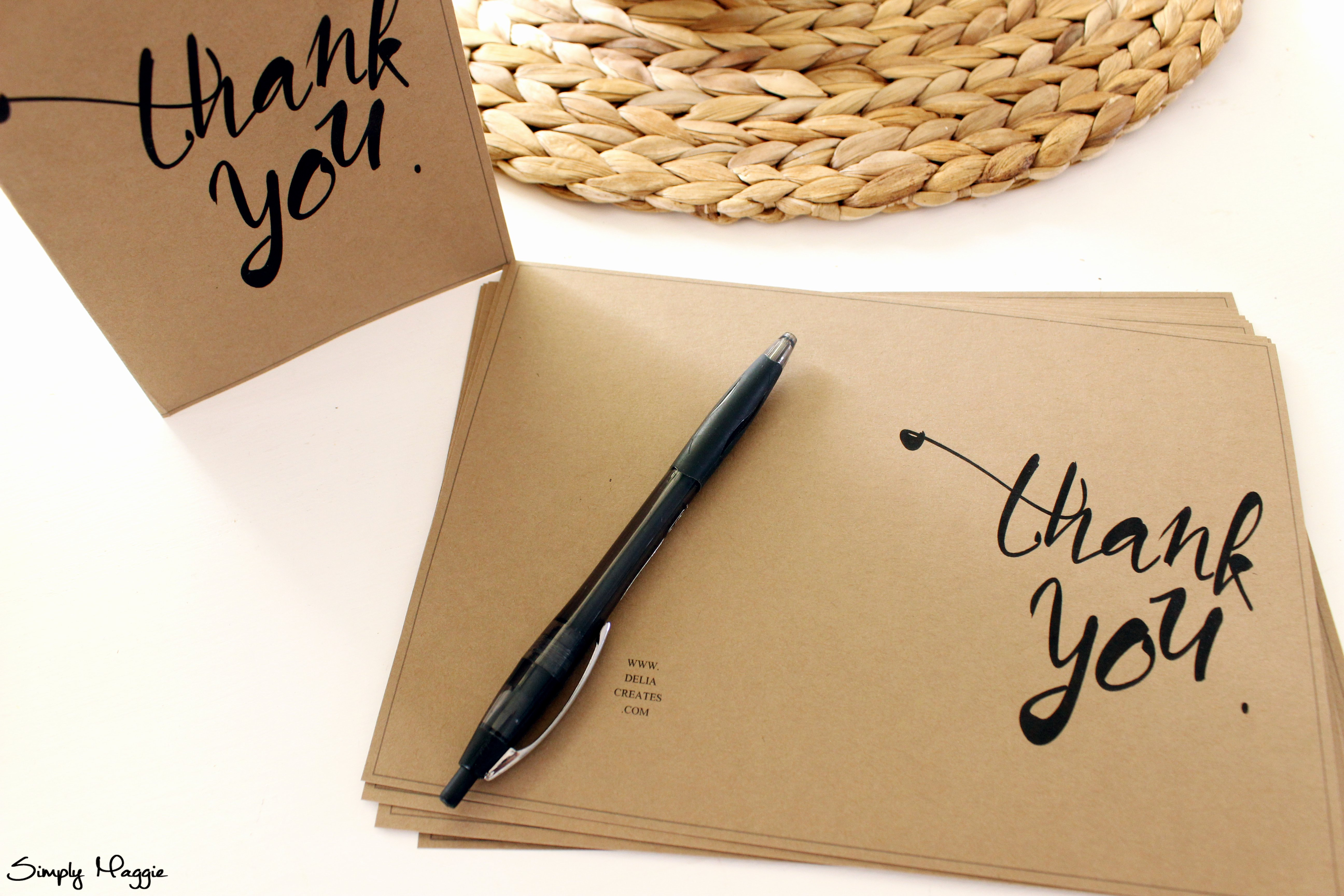 Business Thank You Card Template Best Of Thank You Card Template Free