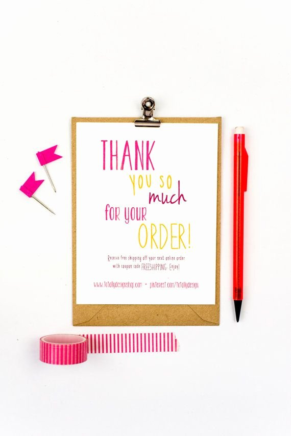 Business Thank You Card Template Elegant 41 Best Business Thank You Cards Images On Pinterest
