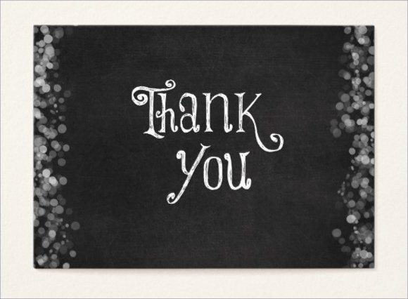 Business Thank You Card Template Elegant 60 Example Of Cards Free Sample Example format