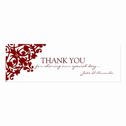 Business Thank You Card Template Inspirational Thank You Cards
