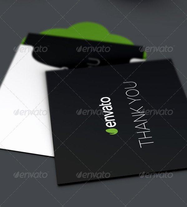 Business Thank You Card Template Lovely 21 Thank You Card Templates Psd Vector Eps Jpg