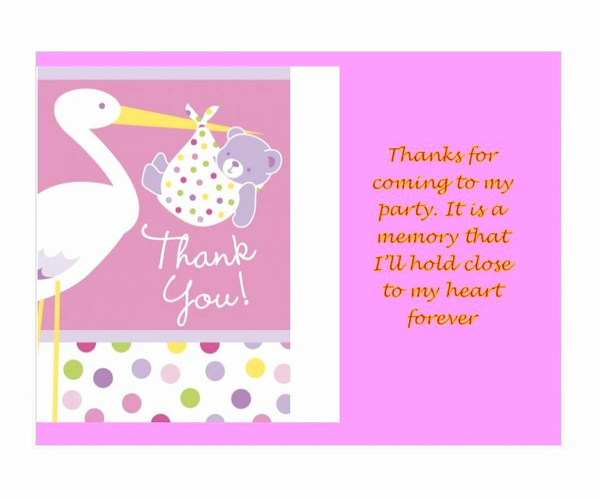 Business Thank You Card Template Lovely 30 Free Printable Thank You Card Templates Wedding
