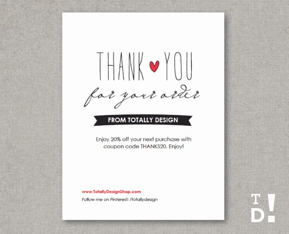 Business Thank You Card Template Luxury Business Thank You Cards Instant Download Lovingly Artsy