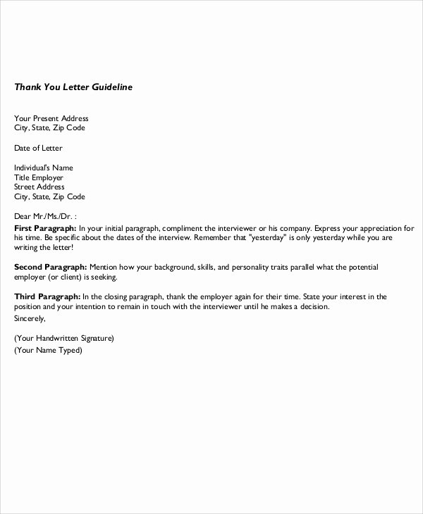 Business Thank You Note Template Beautiful 5 Sample Business Thank You Notes