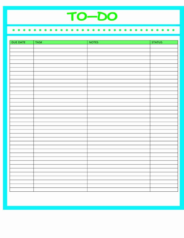 Business to Do List Template Luxury 40 Printable to Do List Templates
