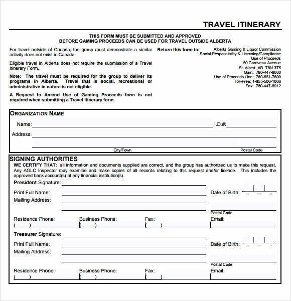 Business Travel Itinerary Template Beautiful 8 Sample Business Travel Itinerary Templates to Download