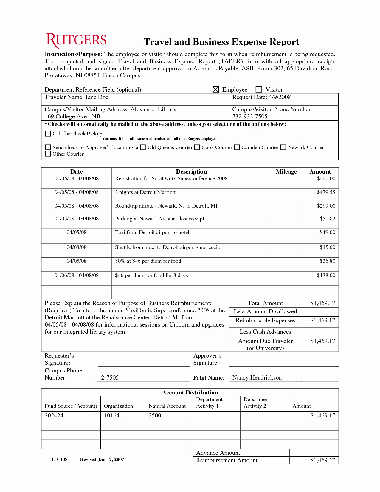 Business Trip Expenses Template Luxury 10 Best Of Employee Travel Expense Report form