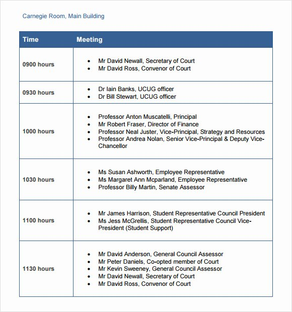Business Trip Itinerary Template Elegant Business Itinerary Template 7 Download Free Documents