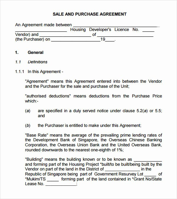 Buy Sell Agreement Llc Template Fresh 17 Sample Buy Sell Agreement Templates