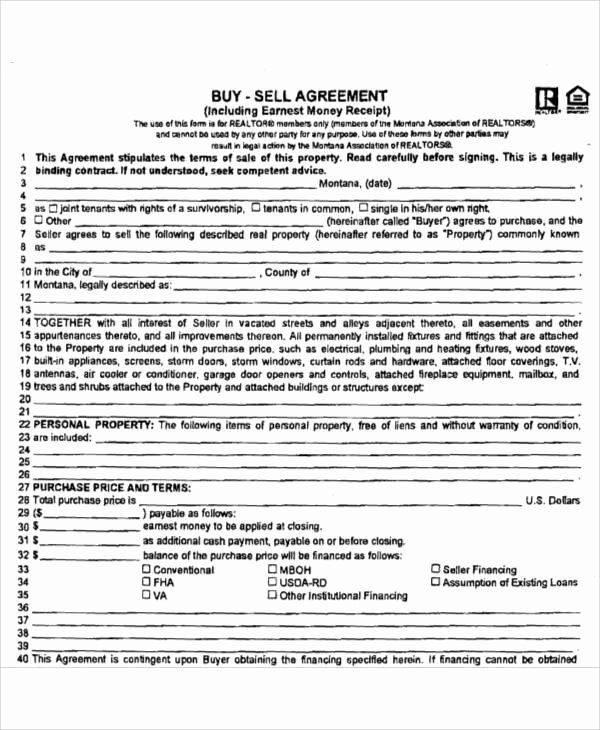 Buy Sell Agreement Llc Template New Buy Sell Agreement Template Montana Templates Resume